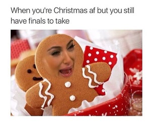 funny, christmas, and kim kardashian image