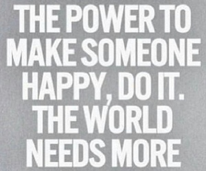 happy, quote, and power image