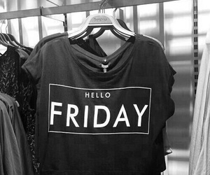 black, friday, and girl image