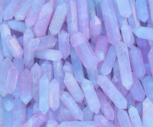 crystal, pink, and purple image