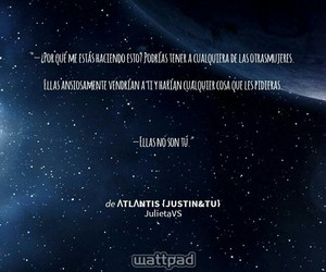frases, justin bieber, and wattpad image
