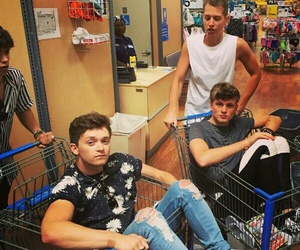 the vamps, bradley simpson, and tristan evans image