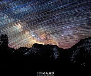 hippie, night, and galaxy image