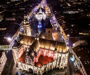 christmas, košice, and slovakia image