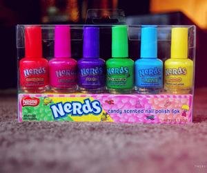 nerd, nails, and nail polish image