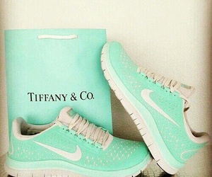 nike, shoes, and tiffany image