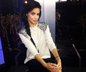 fashion, Adriana Lima, and hair image