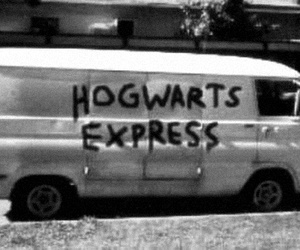hogwarts, harry potter, and hogwarts express image