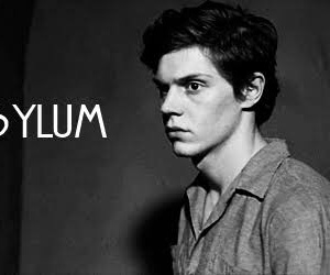 evan peters, ahs, and asylum image