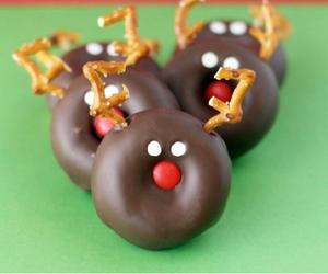 candy, chocolate, and christmas image