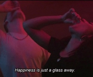happiness, grunge, and alcohol image