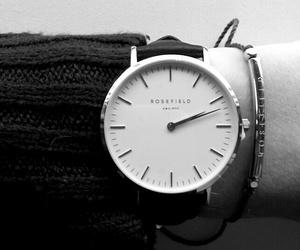 black, bracelet, and silver image