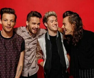 red, narry, and one direction image