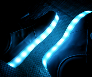 light, blue, and cool image