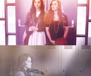 holland roden, lydia martin, and teen wolf image