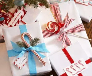 candies, christmas, and gifts image