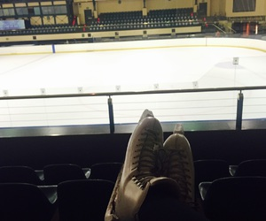 figure skating, ice rink, and risport image