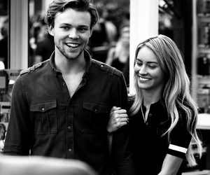 ashton irwin, bryana holly, and 5 seconds of summer image