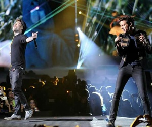 beautiful disaster, mika, and fedez image