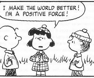 peanuts, positive, and snoopy image