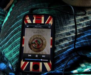 british, iphone, and music image