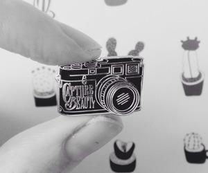 analog, camera, and pin image
