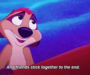 friends, quote, and disney image