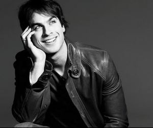 ian somerhalder, smile, and sexy image