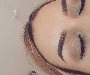 eyebrows, eyelashes, and goals image