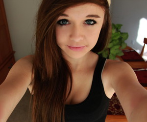 brunette, girl, and acacia clark image