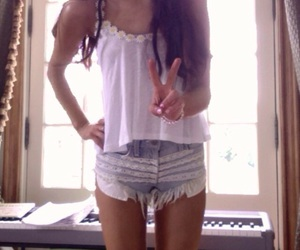 ariana grande, ariana, and shorts image