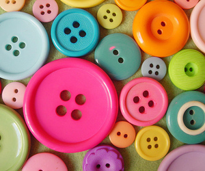 buttons, colors, and colorful image