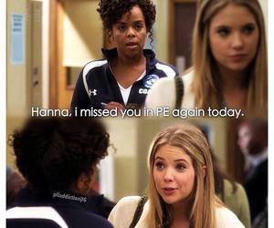 pll, funny, and hanna image
