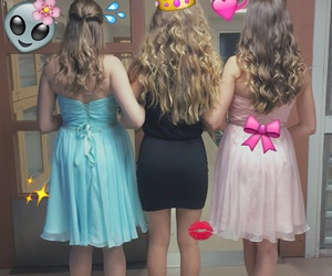bff, love, and dresses image