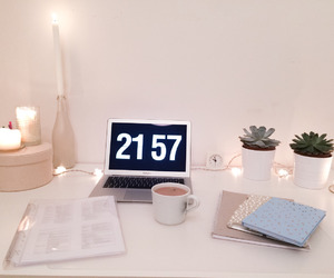 atmosphere, clock, and cup image