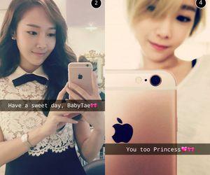 snsd, taeyeon, and love secret image