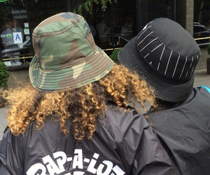 bucket hat and cyber ghetto image