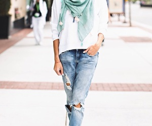 amazing, jeans, and chic image