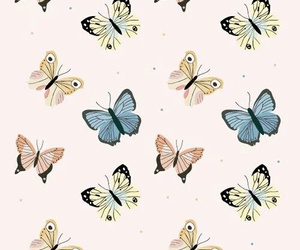 blue, butterfly, and cool image