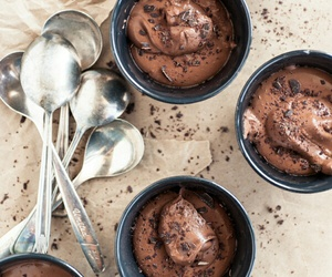 chocolate, sweet, and mousse image