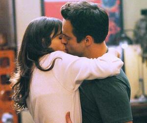 new girl, kiss, and couple image