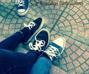 forever, friendship, and shoes image