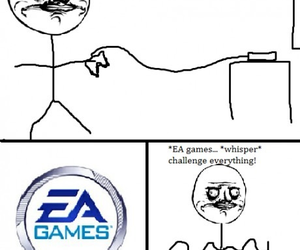 ea games, funny, and meme image