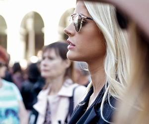 amazing, blond, and sunglasses image