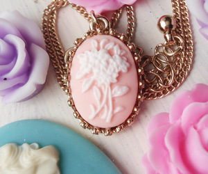 jewelry, pink, and white image