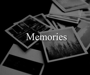 memories, black and white, and photo image