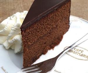 cake and kladdkaka image
