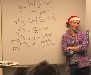 christmas, teacher, and funny image