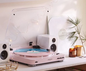music, pink, and vintage image