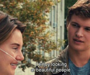 love, the fault in our stars, and movie image